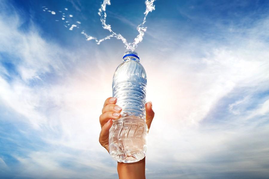 display water bottle
